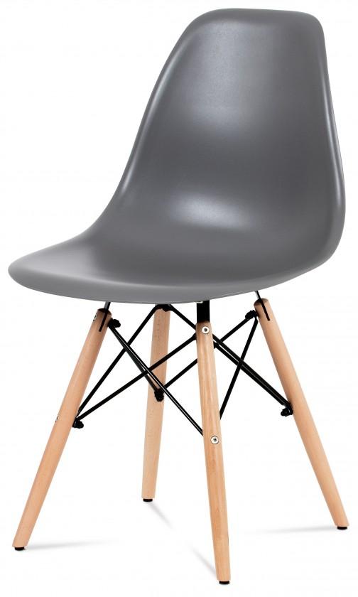 Stolička Jedálenská stolička Mila sivá