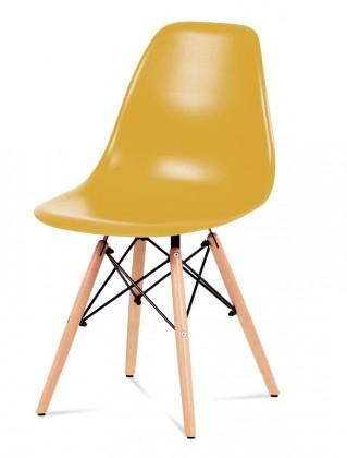 Stolička Jedálenská stolička Mila (žltá)
