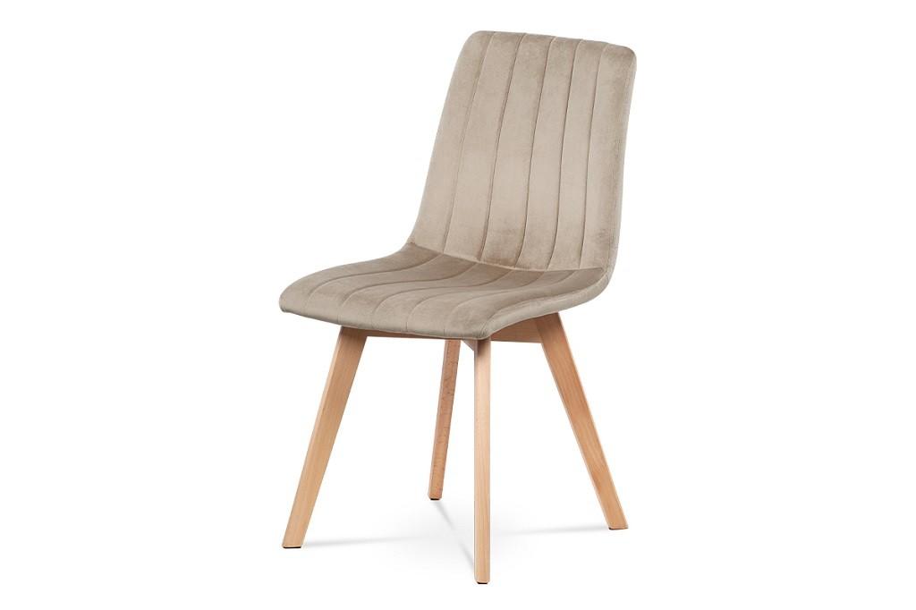 Stolička Jedálenská stolička Raha krémová/buk