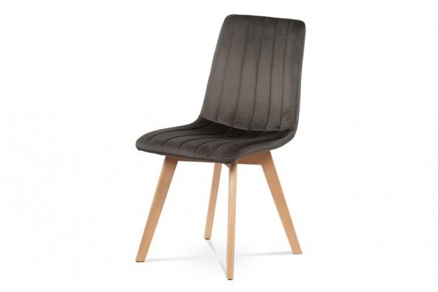 Stolička Jedálenská stolička Raha sivá/buk
