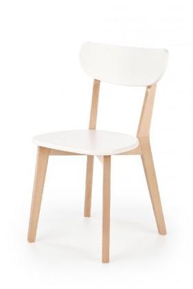 Stolička Jedálenská stolička Ronja biela