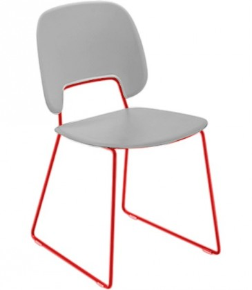 Stolička Jedálenská stolička Traffic-t biela
