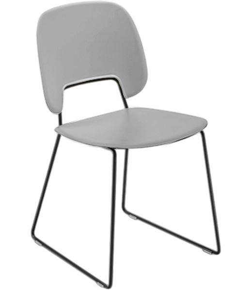 Stolička Jedálenská stolička Traffic-t sivá