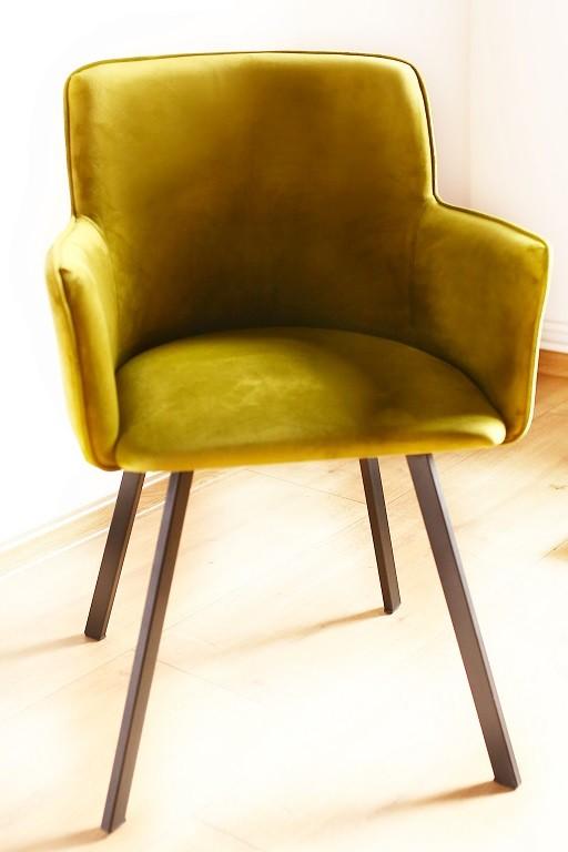 Stolička Jedálenská stolička Vian zelená, čierna