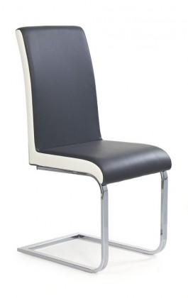 Stolička K103 (šedá/bílá)