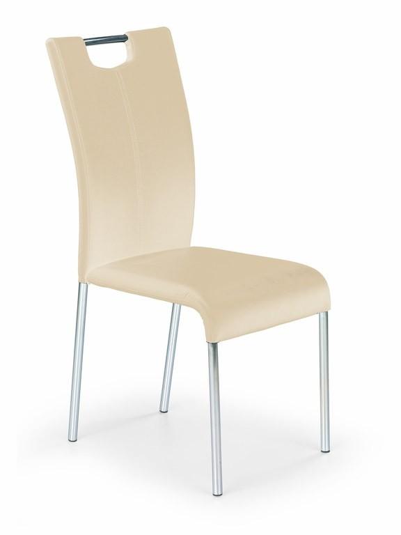 Stolička K138 (tmavý krém)