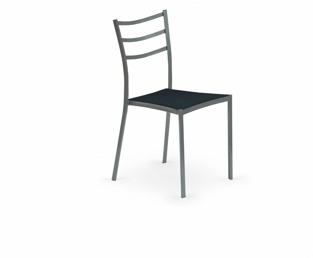 Stolička K159  (čierna, sivá)