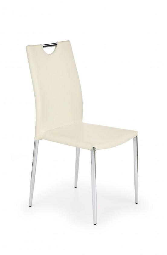 Stolička K196 (tmavý krém)