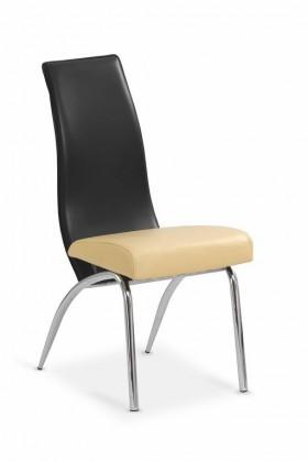Stolička K2 (béžová/černá)