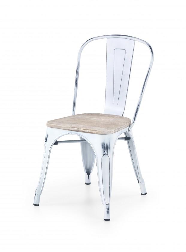 Stolička K204 - Jedálenská stolička (biela)