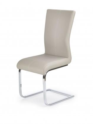 Stolička K218 - Jedálenská stolička (cappuccino, strieborná)