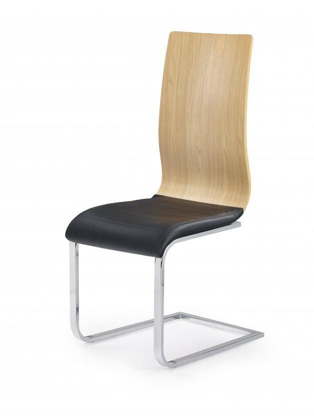 Stolička K222 - Jedálenská stolička (hnedá, jelša)