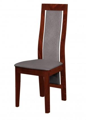Stolička Kanzas - jedálenská stolička (drevo - sołtysiak/poťah - látka)