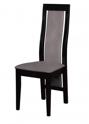 Stolička Kanzas - jedálenská stolička (drevo - wenge/poťah - látka)