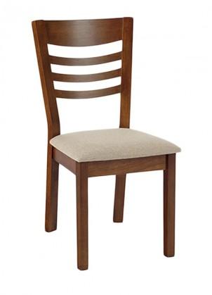 Stolička Melisa(orech/poťah krémový)
