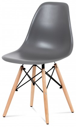 Stolička Mila - Jedálenská stolička šedá
