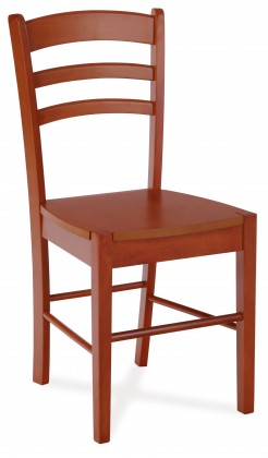 Stolička MILIS(kaučukovník, morenie čerešňa)