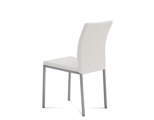 Stolička MIRO(hliník + bloom biela)