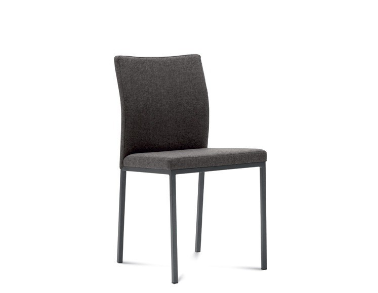 Stolička MIRO(hliník + flirt brown)