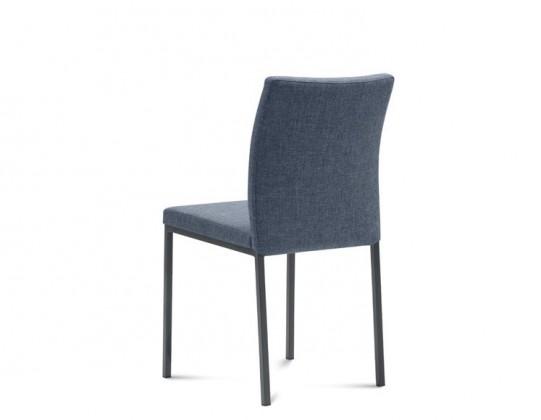 Stolička MIRO(hliník + flirt jeans)