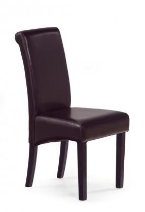 Stolička Nero - Jedálenská stolička, nosnosť 120 kg (wenge / tmavo hnedá)