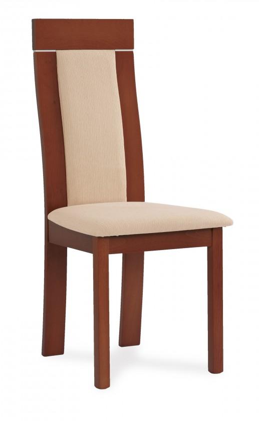 Stolička OCANA(buk, morenie čerešňa,poťah krémový)