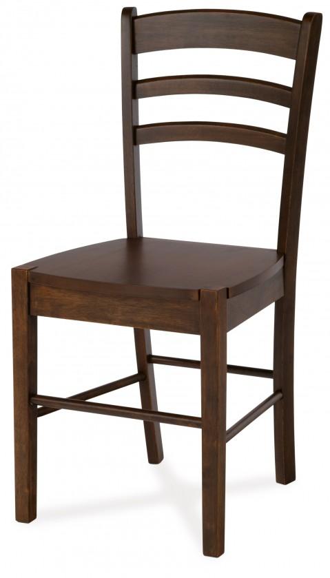Stolička ORGORO(kaučukovník, morenie orech)