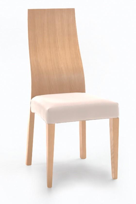 Stolička Pinta  (dub/antara krémová)