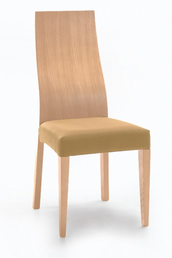 Stolička Pinta  (dub/antara okrová)