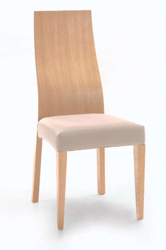 Stolička Pinta  (dub/antara svetlo béžová)