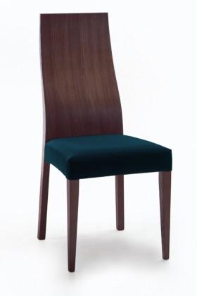 Stolička Pinta  (jaseň/navara petrolejová)