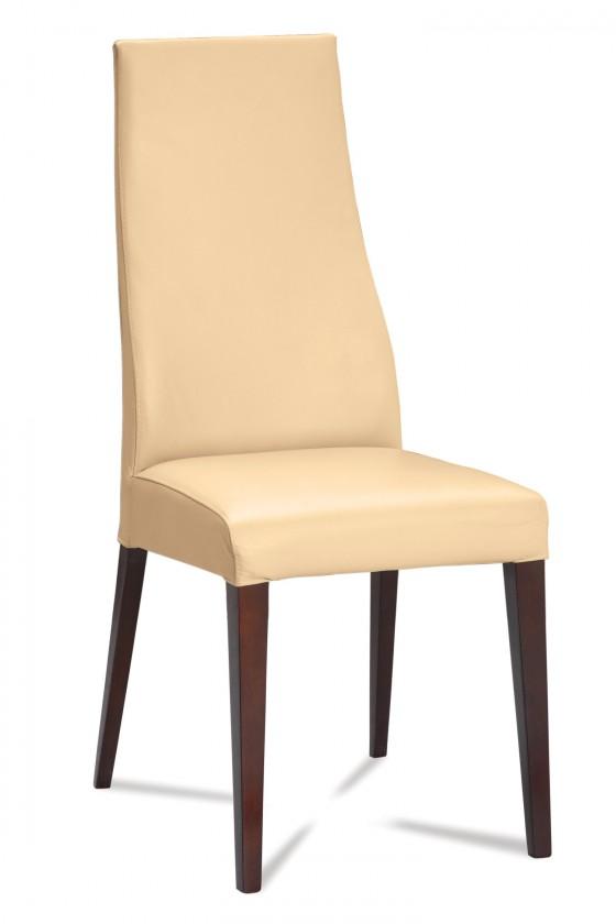 Stolička Semora (wenge/eko kože kaiman slonová kost)