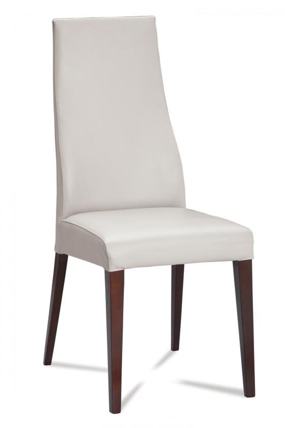 Stolička Semora (wenge/eko kože vienna biela)