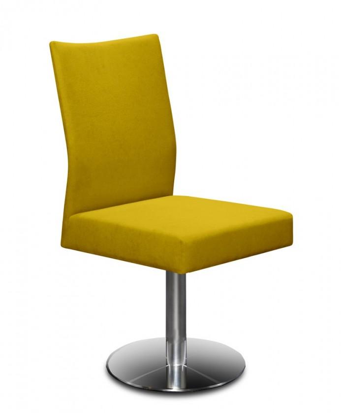 Stolička Set - centrálna noha (oceľ nerez, kari)