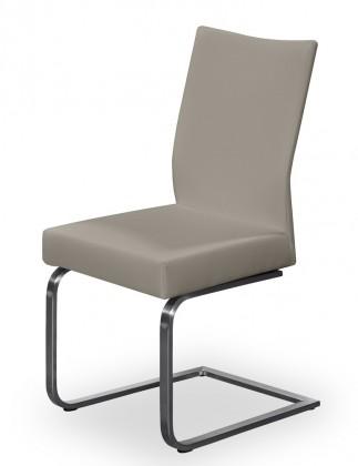 Stolička Set - hojdacia (oceľ nerez, eko kože sahara)