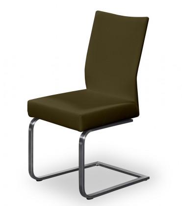 Stolička Set - hojdacia (oceľ nerez, hnedá)