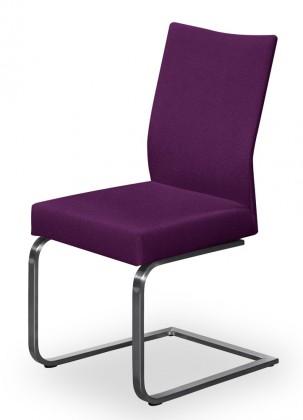 Stolička Set - hojdacia (oceľ nerez, rubínová)