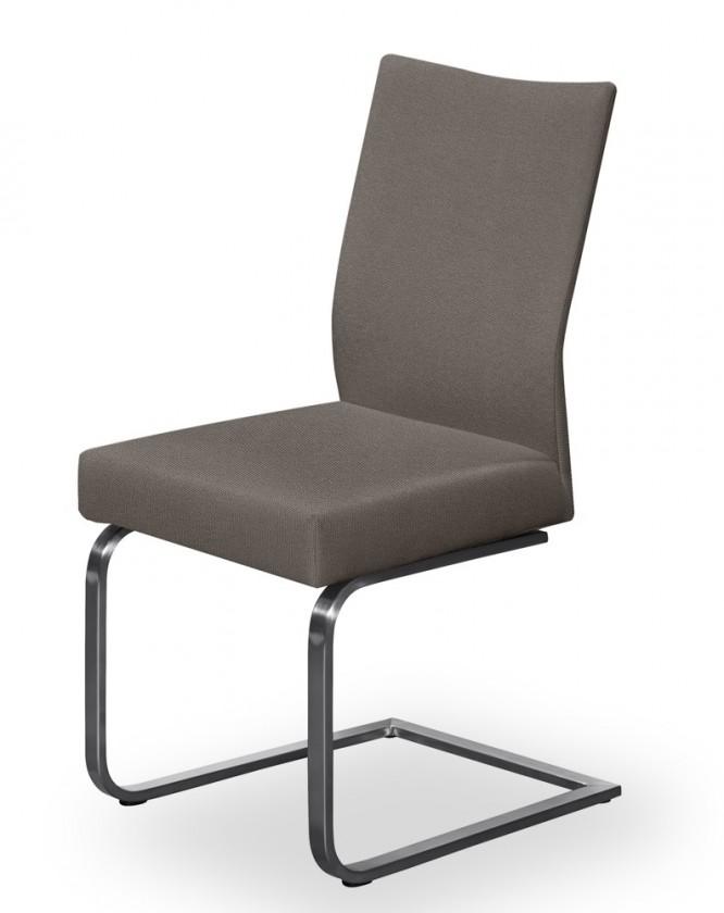 Stolička Set - hojdacia (oceľ nerez, sivohnedá)