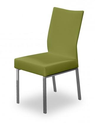 Stolička Set (oceľ nerez, olivová)