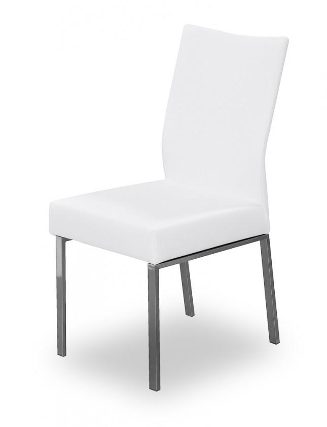 Stolička Set (oceľ nerez, slonová kosť)