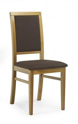 Stolička Sylwek 1  (hnedá dafne 26, jelša)
