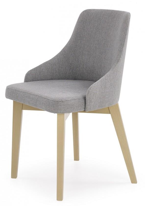 Stolička Toledo - Jedálenská stolička (masív buk sonoma, látka)