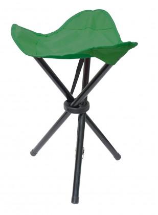 Stolička trojnožka (zelená)