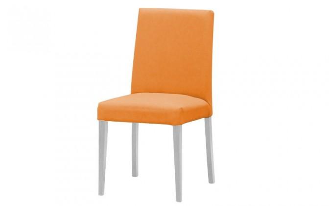 Stolička Uno(biela/carabu arancio 94)
