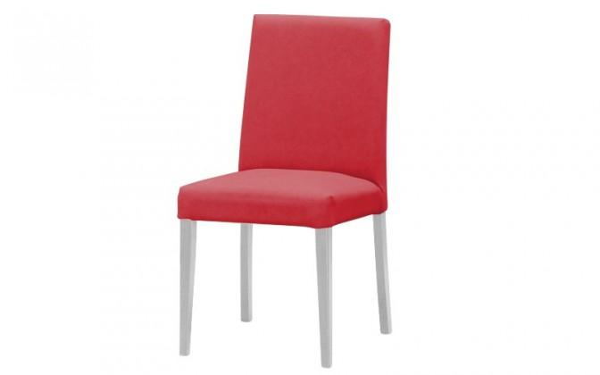 Stolička Uno(biela/carabu bordo 80)