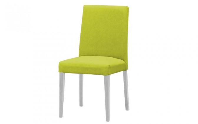 Stolička Uno(biela/carabu verde chiaro 96)