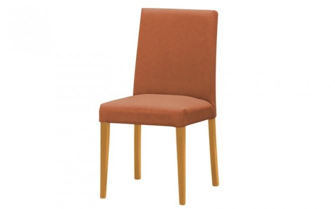 Stolička Uno(buk/carabu terracotta 75)