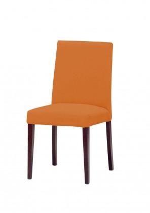 Stolička Uno(tm.hnedá/carabu arancio 94)