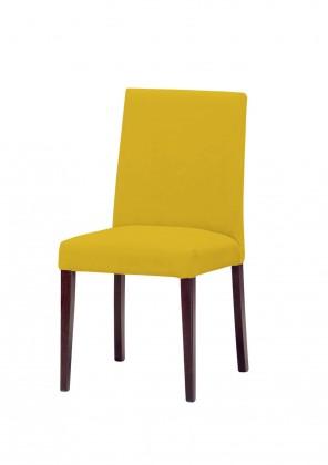 Stolička Uno(tm.hnedá/carabu giallo 131)