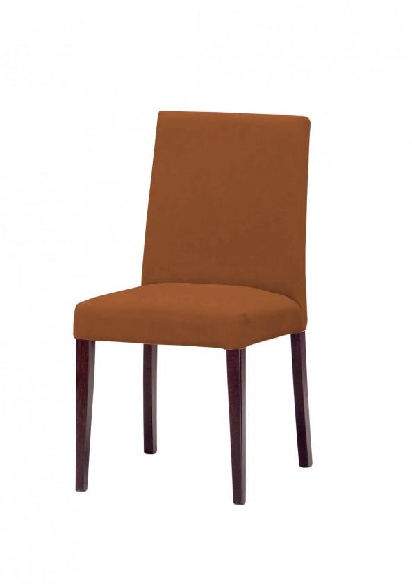 Stolička Uno(tm.hnedá/carabu terracotta 75)